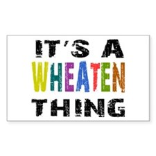 Wheaten THING Decal
