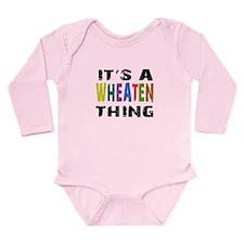 Wheaten THING Long Sleeve Infant Bodysuit