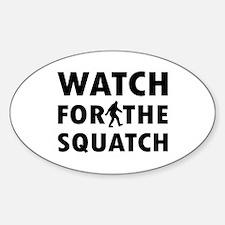 Watch Squatch Decal