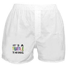 Turtle THING Boxer Shorts