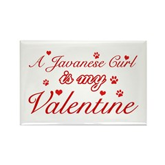 A Javanese is my valentine Rectangle Magnet (100 p