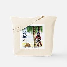 Caribbean Pirates Tote Bag