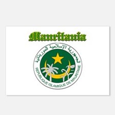 Mauritania Done designs Postcards (Package of 8)