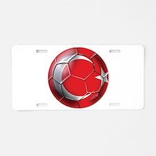 Turkish Football Aluminum License Plate