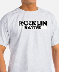 Rocklin Native Ash Grey T-Shirt
