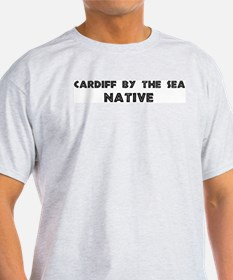 Cardiff By The Sea Native Ash Grey T-Shirt