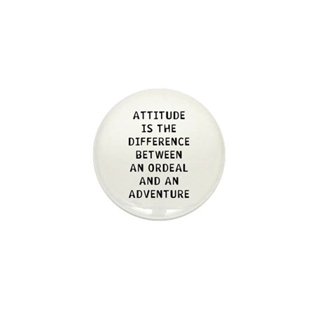 Attitude Mini Button