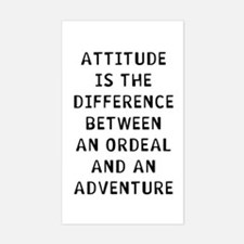 Attitude Sticker (Rectangle)