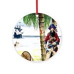 Caribbean Pirates Ornament (Round)