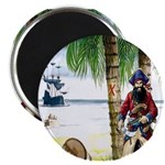 Caribbean Pirates Magnet