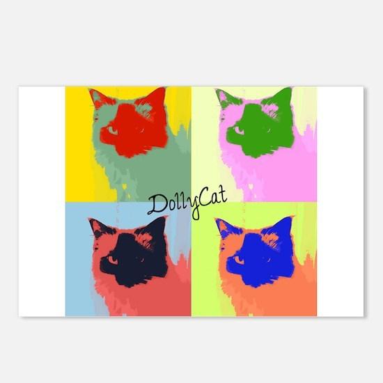 DollyCat Pop Art - Ragdoll Cat - Postcards (Packag