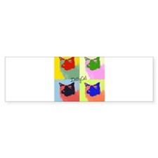 DollyCat Pop Art - Ragdoll Cat - Bumper Sticker