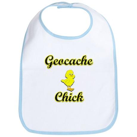 Geocache Chick Bib