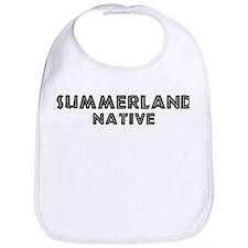 Summerland Native Bib