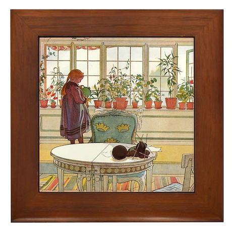 Little Gardener Framed Tile