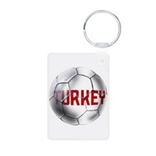 Turkey Soccer Ball Keychains
