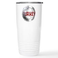 Turkey Soccer Ball Travel Mug