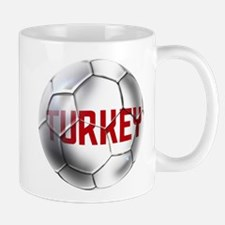 Turkey Soccer Ball Mug