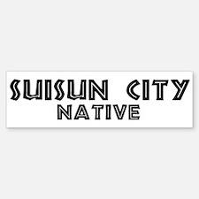 Suisun City Native Bumper Bumper Bumper Sticker