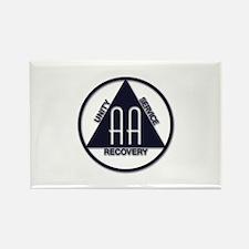 A.A. Logo Classics - Rectangle Magnet