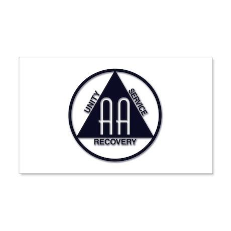 A.A. Logo Classics - 22x14 Wall Peel