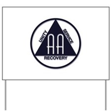 A.A. Logo Classics - Yard Sign