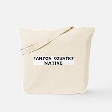 Canyon Country Native Tote Bag