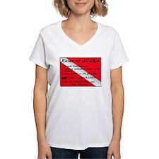 rules of scuba copy T-Shirt