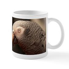 Grey Parrot Small Mug
