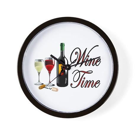 WINE OCLOCK Wall Clock