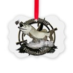 Fishing legend Picture Ornament