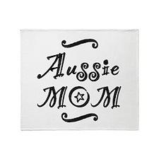 Aussie MOM Throw Blanket