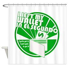 El Segundo Green Shower Curtain
