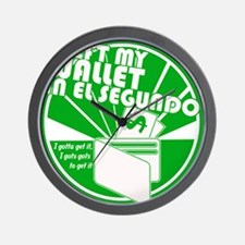 El Segundo Green Wall Clock