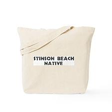 Stinson Beach Native Tote Bag