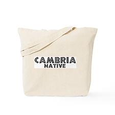 Cambria Native Tote Bag