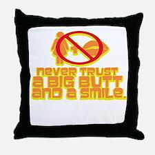 POISON! Throw Pillow