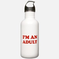 I'm an Adult Sports Water Bottle