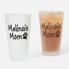 Malinois MOM Drinking Glass