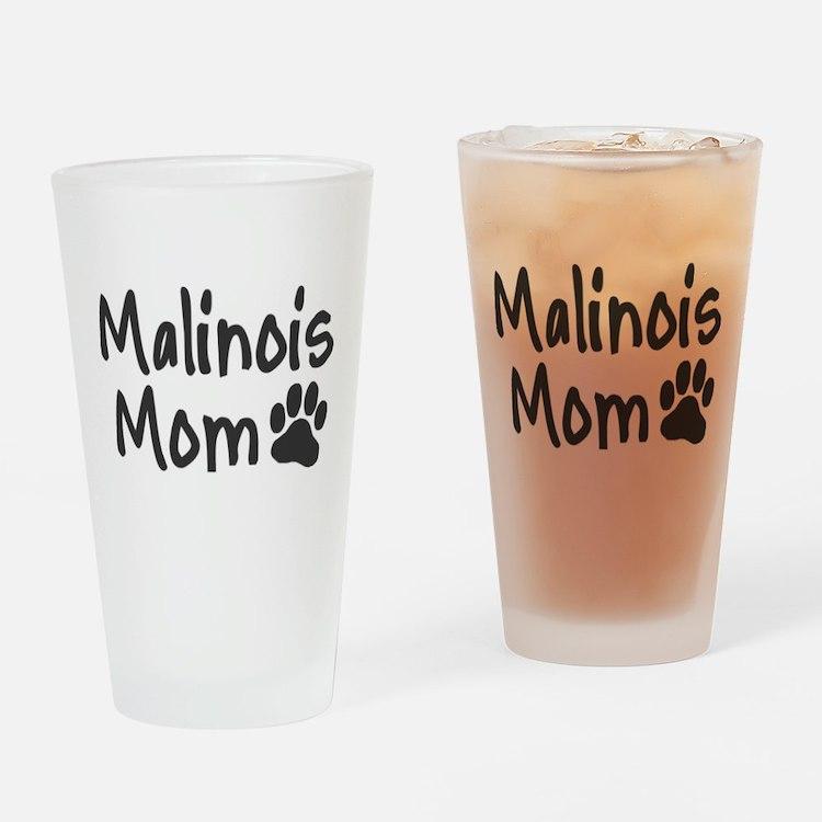 Malinois MOM Drinking Glass