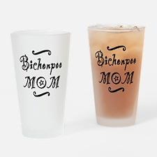 Bichonpoo MOM Drinking Glass