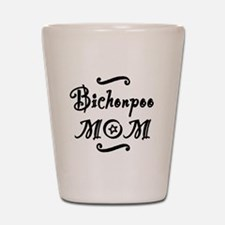 Bichonpoo MOM Shot Glass
