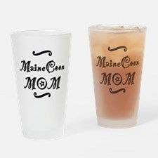 Maine Coon MOM Drinking Glass