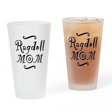 Ragdoll MOM Drinking Glass