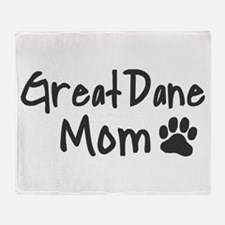 Great Dane MOM Throw Blanket