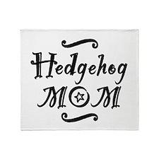 Hedgehog MOM Throw Blanket