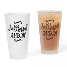 Jack Russell MOM Drinking Glass