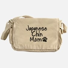 Japanese Chin MOM Messenger Bag