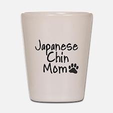 Japanese Chin MOM Shot Glass