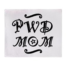 PWD MOM Throw Blanket